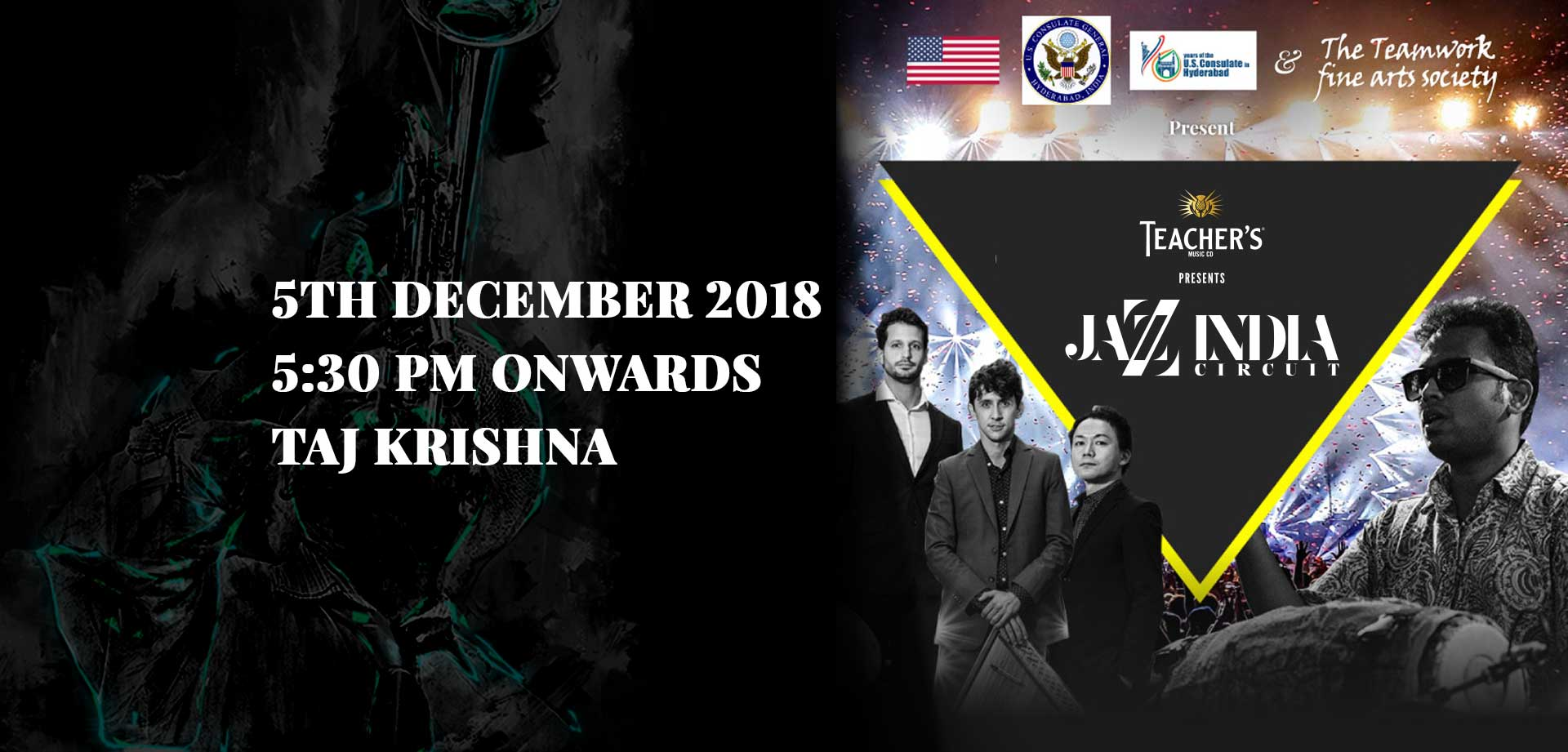Jazz India Circuit Tour with House of Water in Hyderabad